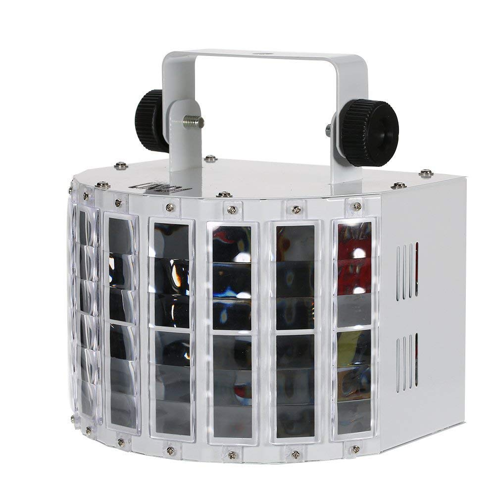 13W DJ Stage Lights 9 Colors LED Wide Beam Lamp Projector with IR Remote Home KTV Disco Lighting